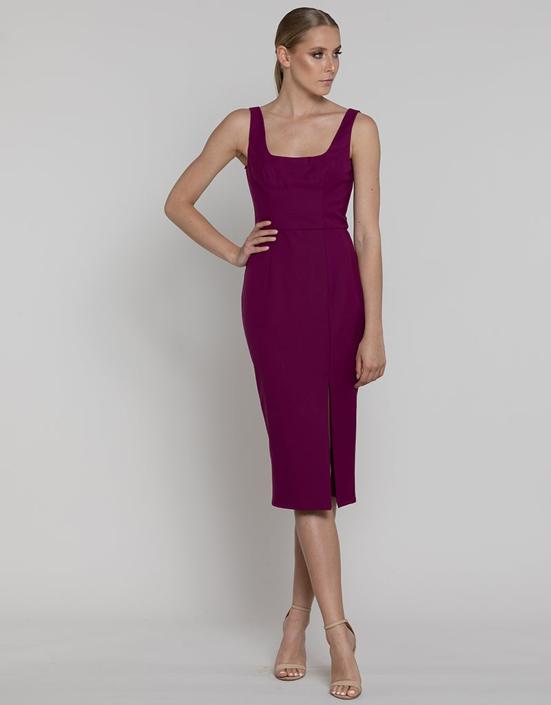 DIANA SCOOP NECK DRESS L37D07-S