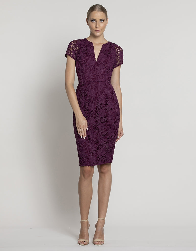 MANHATTAN LACE DRESS L38D02-S