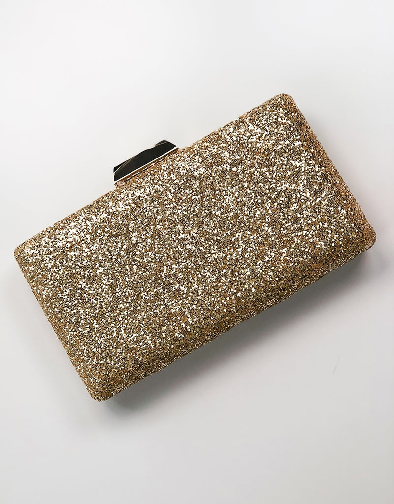 LENA GLITTER CLUTCH BAG1347