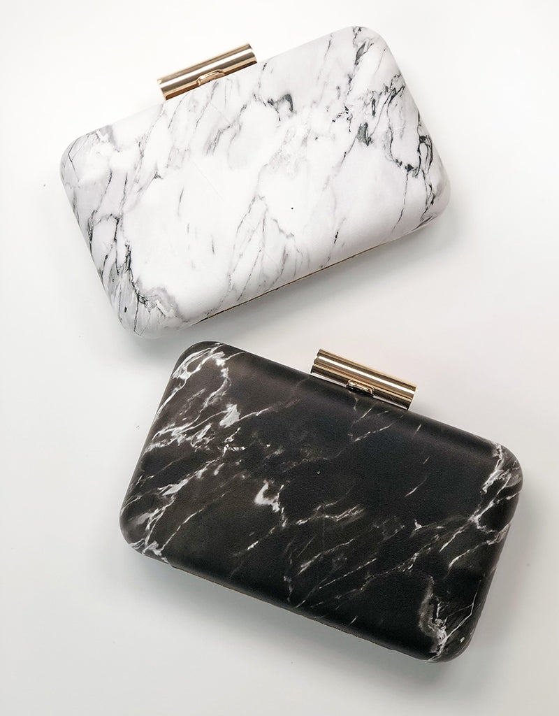 MARBLE CLUTCH BAG1346