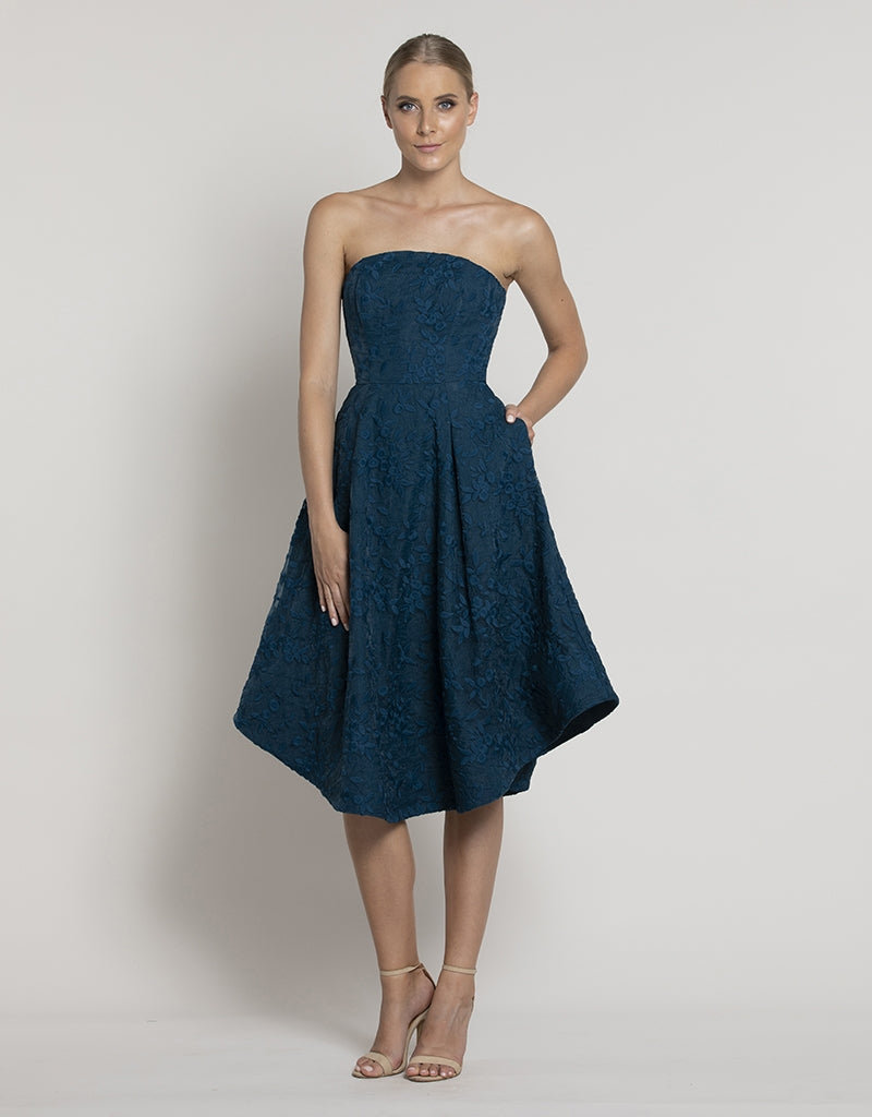 BAY BREEZE STRAPLESS DRESS