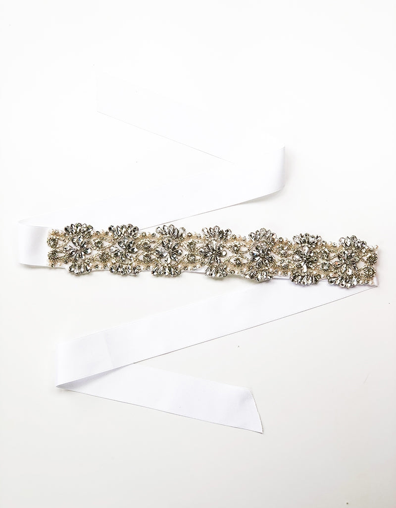 STELLA DIAMANTE/PEARL BELT100