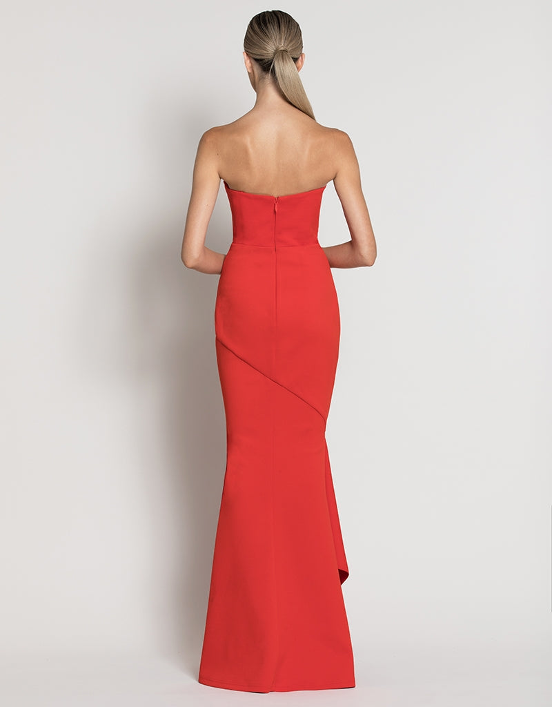 VICTORIA STRAPLESS FISHTAIL GOWN B39D13-L
