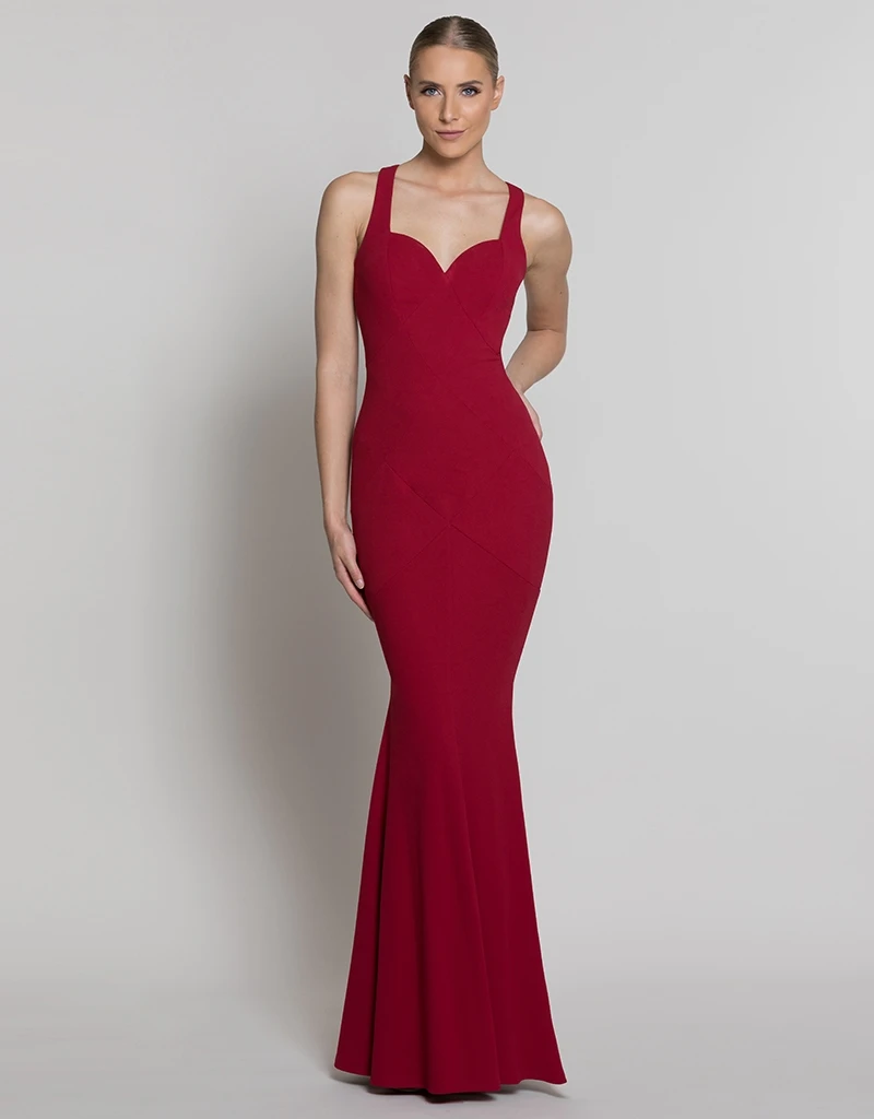 ARIEL SPLIT GOWN BB40D32L