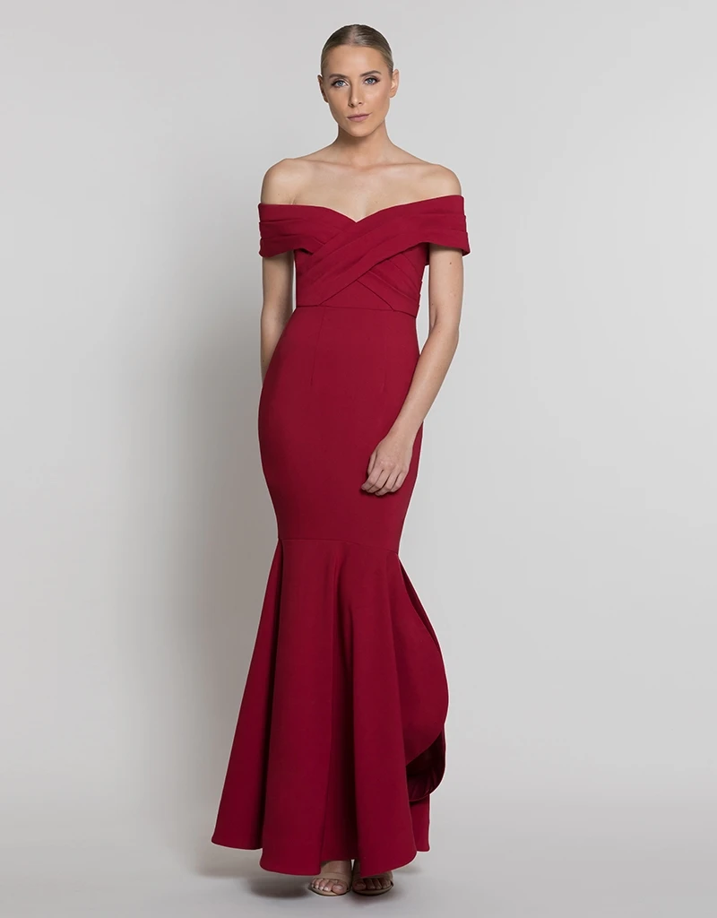 ANGEL OFF SHOULDER GOWN