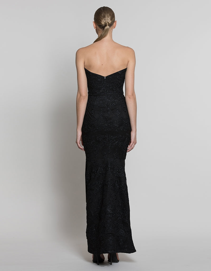 CLEO STRAPLESS GOWN