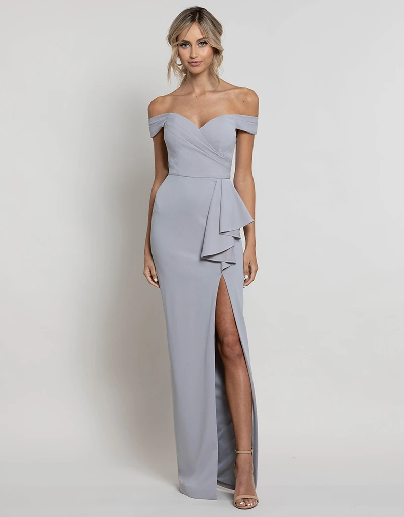 ELOISE OFF-SHOULDER GOWN B41D28
