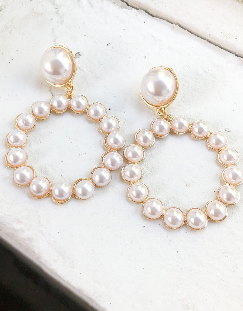 NAILEA PEARL EARRINGS