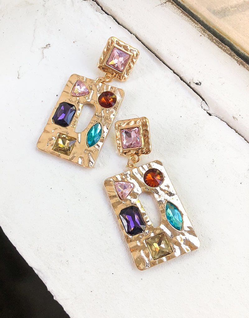 FREYA GEM EARRINGS