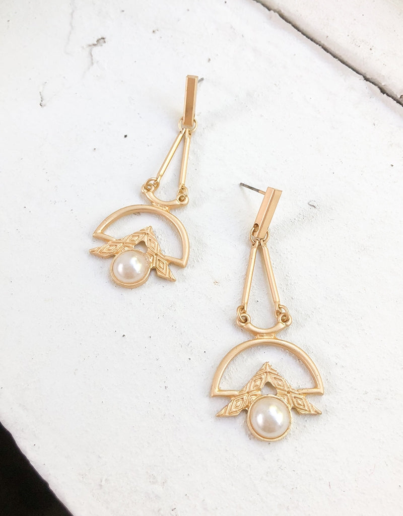 REINA DROP EARRINGS