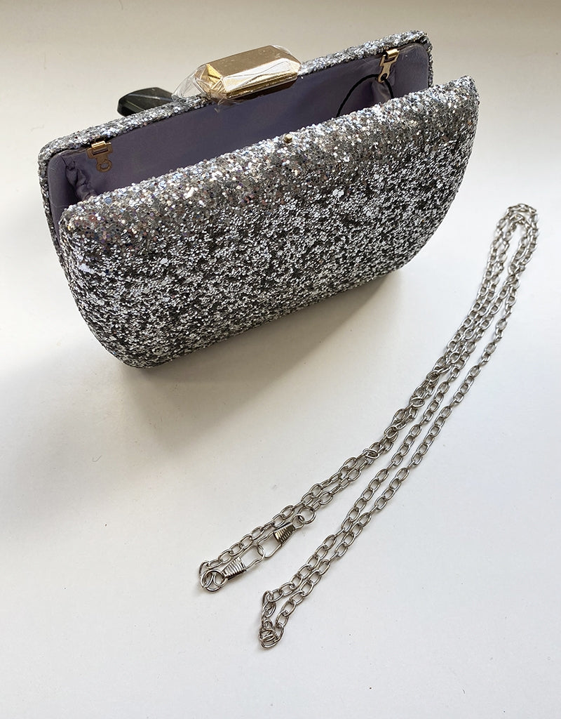 PRINCESS GLITTER CLUTCH BAG1338