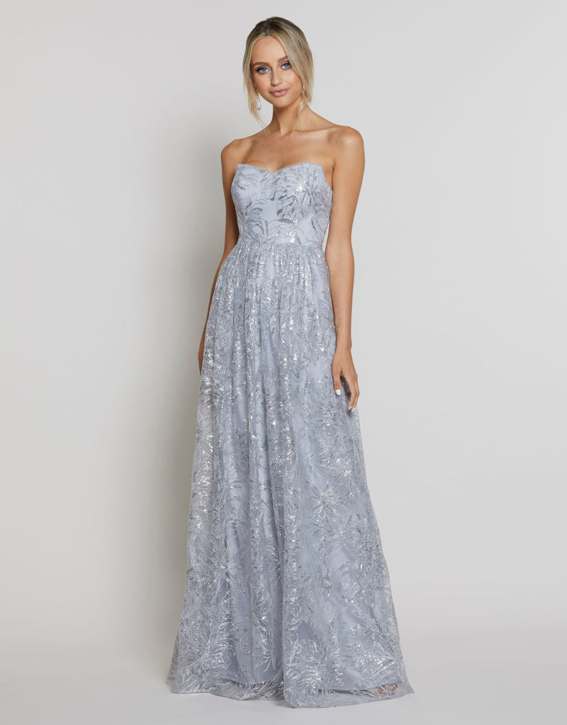 WISTERIA STRAPLESS A-LINE GOWN B40D26L