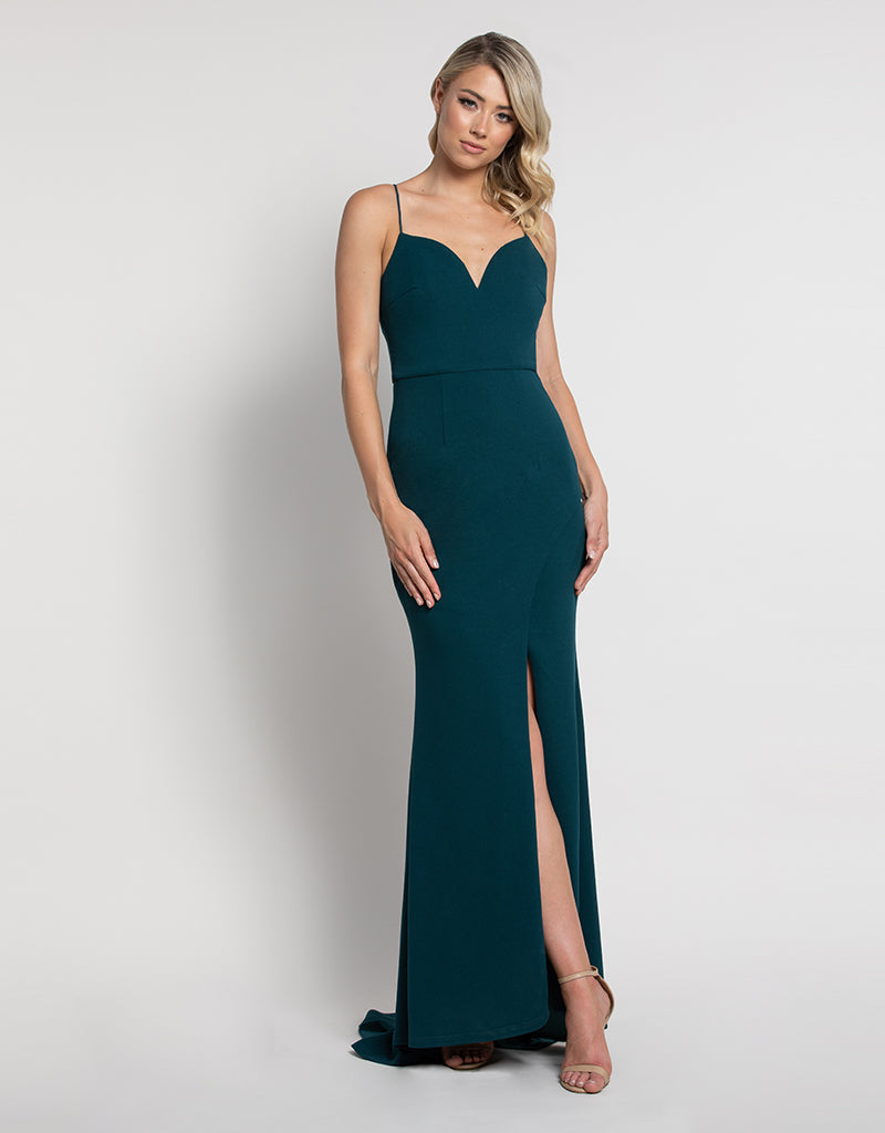 NIKKI STRAPPY GOWN BB45D38L