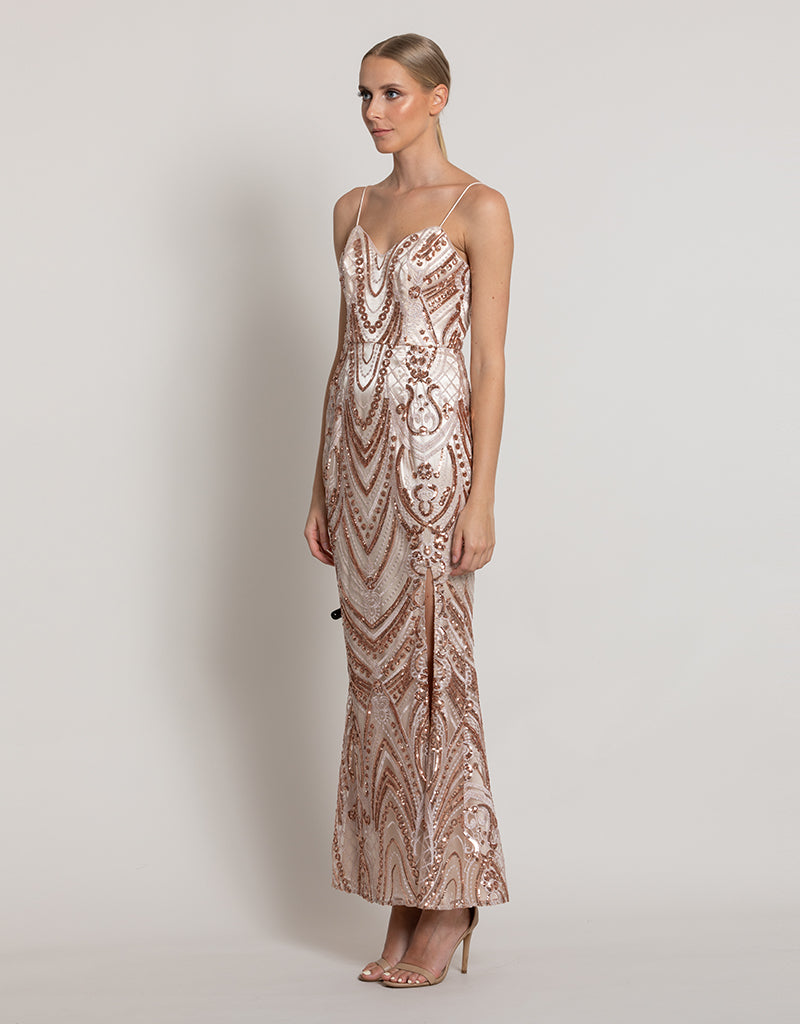 EMMA SLEEK GOWN