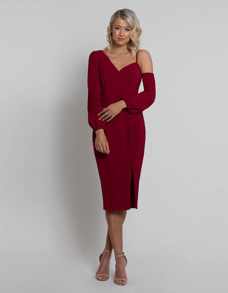 LILLIAN ASYMMETRIC DRESS L42D09S