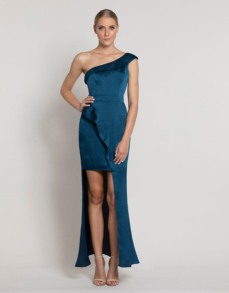 JULEP ONE SHOULDER MAXI L38D26-L