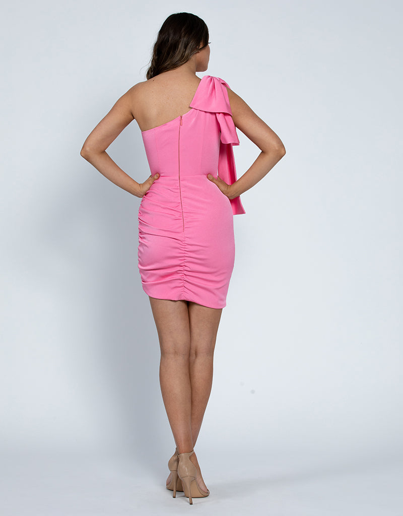 KAIA ONE SHOULDER MINI L46D31S