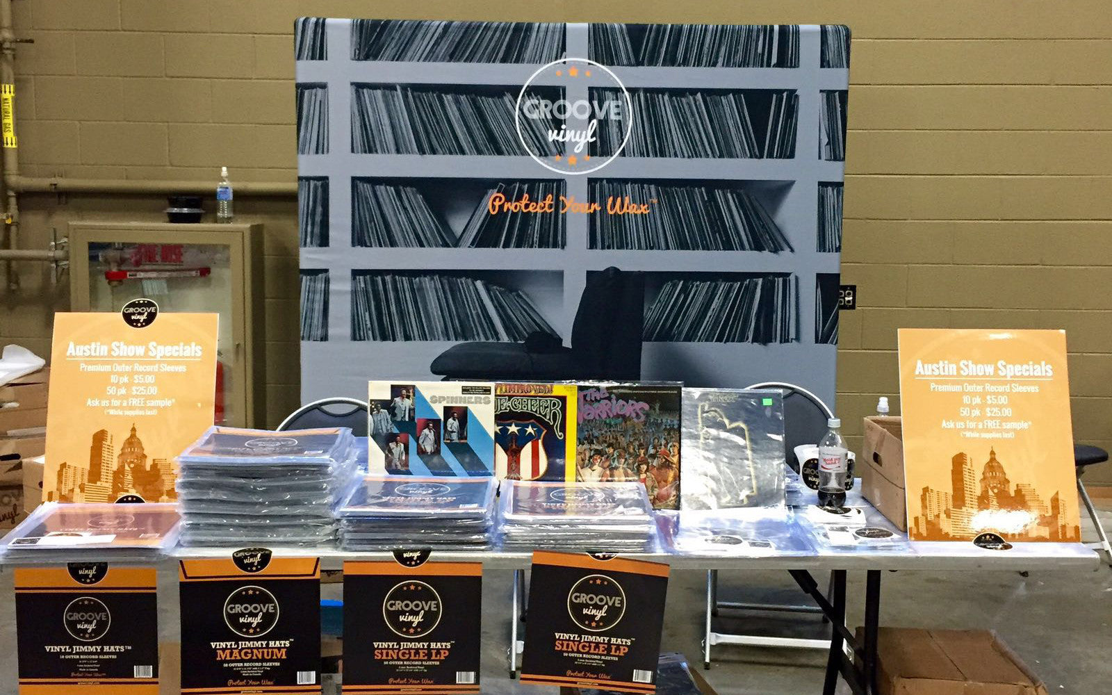 Recap from the Austin Record Convention