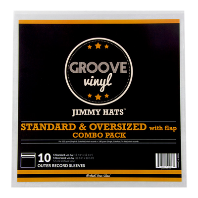 Combo Pack Premium Outer Record Sleeves with Flap