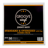 12 Inch Combo Pack with Flap Premium Outer Record Sleeves - Groove Vinyl