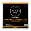 12 Inch Combo Pack Premium Outer Record Sleeves - Groove Vinyl