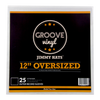 12 Inch Oversized Premium Outer Record Sleeves - Groove Vinyl