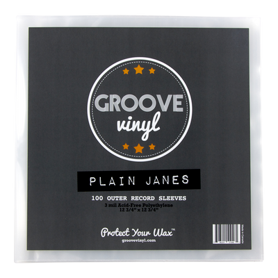 12 Inch Outer Record Sleeves - Groove Vinyl