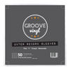 7 Inch (45 RPM) Outer Record Sleeves - Groove Vinyl