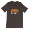Groove Sounds Orange Text T-Shirt - Groove Vinyl