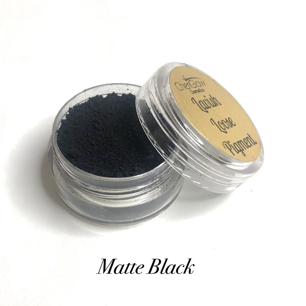 Matte Black - Lavish Loose Pigment