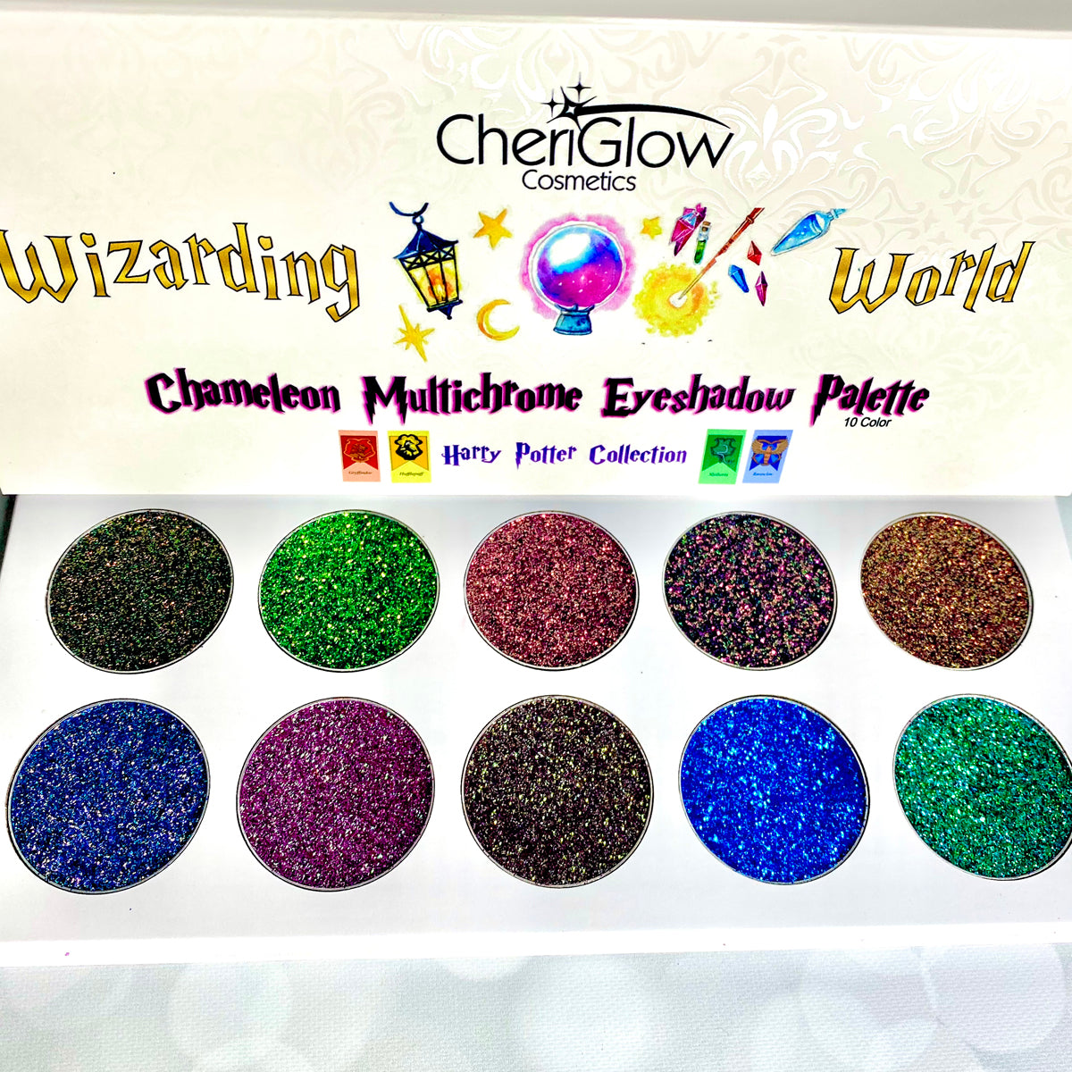 Wizarding World Chameleon Multichrome Glitter Eyeshadow Palette