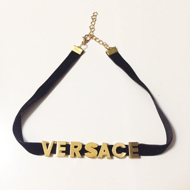 Custom Name Choker