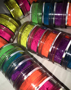 Neon Pigments Stack of 6