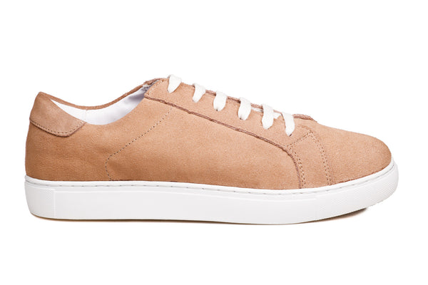 Original Lace-up Camel Suede