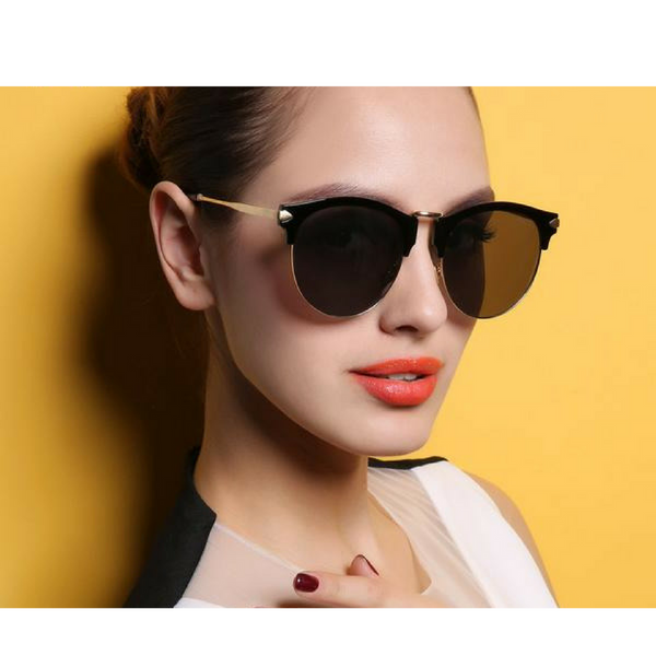 Slim Frame Cat Eye Sunglasses - 6 Color Options