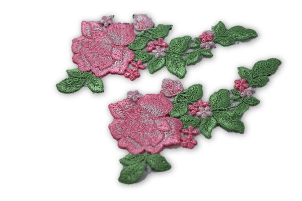 Pink Flowers - Set of 6