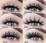 KYLIE- 3D Mink Lashes - Haus of Luxe
