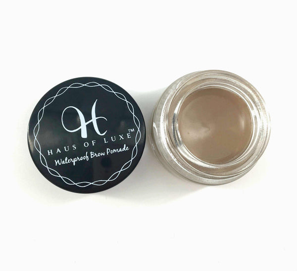 WATERPROOF BROW POMADE - Haus of Luxe