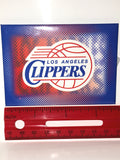 Width of LA Clippers Magnet