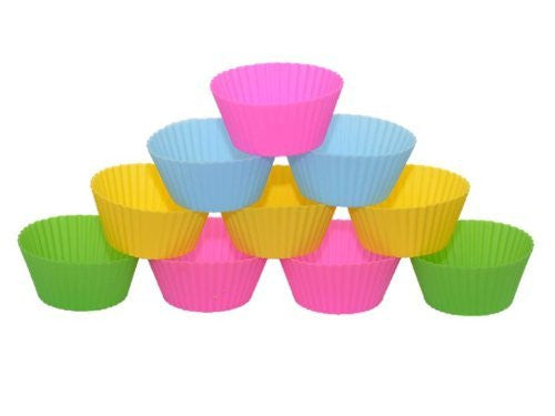 Silicone Baking Cups by Savvy Chef