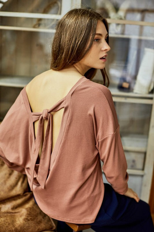Dusty Mauve Top