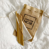 charbon-noir-cosmetics-bamboo-straws-cleaning-brush-pouch
