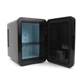 charbon-noir-cosmetics-fridge-4l-black-open-empty