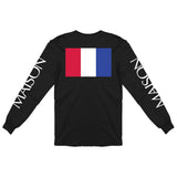 BLACK 'PARIS' LS TEE
