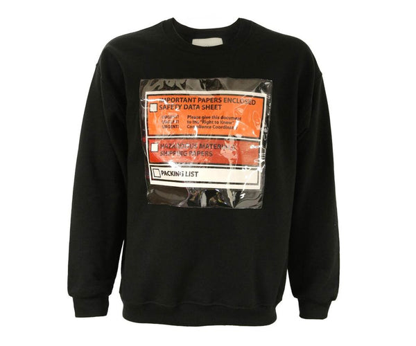 "Norwood Chapters ""IMPORTANT PAPERS"" Long Sleeve Jersey-Black"