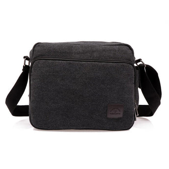 High Quality Multifunction Men Canvas Bag Casual Travel  Men's Cross body Bag