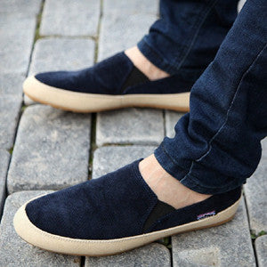 New men casual shoes man spring autumn Loafers England Fashion Zapato Breathable Slip on flats