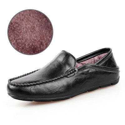 Fashion Casual Driving Shoes Genuine Leather Loafers Men Shoes New Men Loafers Luxury Brand Flats