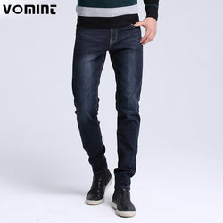 2017  Brand New Men Washed Jeans Skinny Fit Jeans men Robin Casual Stretch jeans
