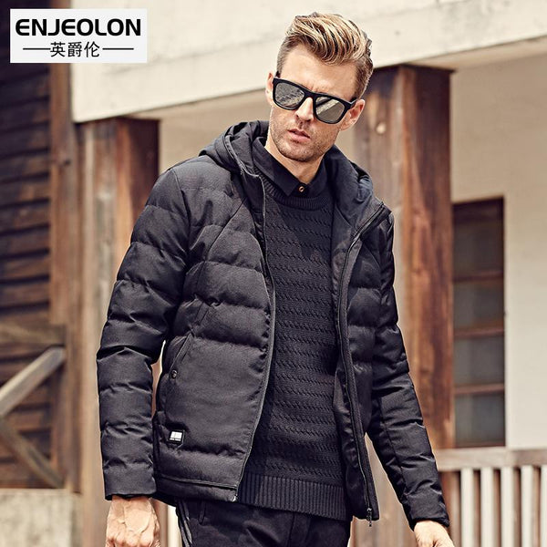 Cotton Padded Hooded Jacket